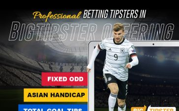 Professional Betting Tipsters in Bigtipster offering Fixed Odd, Asian Handicap and Total Goal tips.
